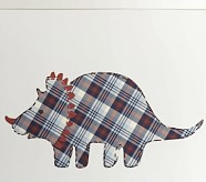 Madras Dino Wall Decals, Blue