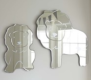 Harper Lion Shaped Mirror, Small