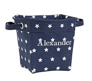 Star Medium Canvas Storage, Navy