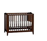 Emerson Mini Crib & Mattress Set, Tuscan