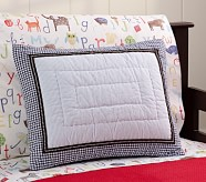 ABC Small Quilted Sham