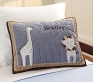 Organic Bradley Nursery Toddler Quilted Sham
