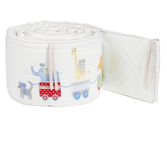 Circus Friends Nursery Bumper