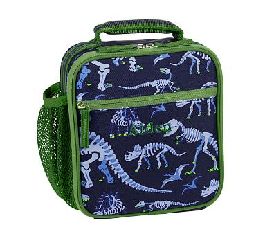 Mackenzie Blue Dino Lunch Bags Pottery Barn Kids