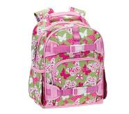 Mackenzie Small Backpack, Green Butterfly