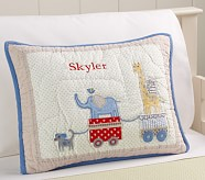 Circus Friends Toddler Quilted Sham