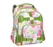 Mackenzie Pink Hibiscus Small Backpack