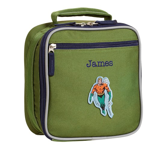 Fairfax Green Lunch Bag, <em>Aquaman</em>