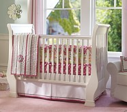 Paisley Pop Dottie Nursery Bumper Bedding Set