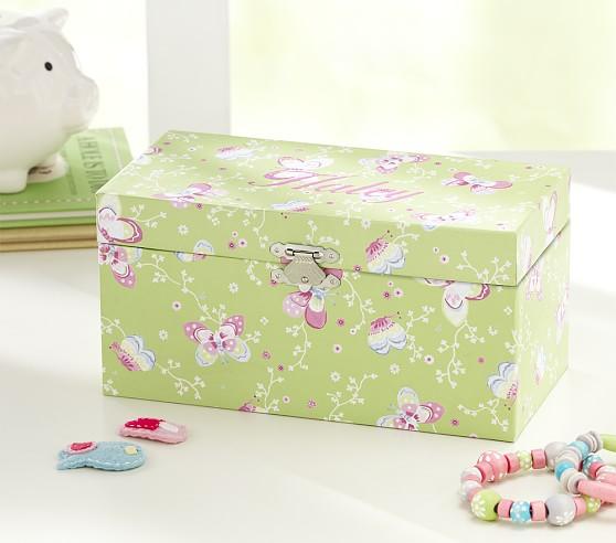 Butterfly Sadie Jewelry Box