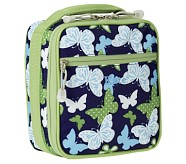 Mackenzie Classic Lunch Bag, Navy Butterfly