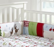 Winter Wonderland Crib Winter Wonderland Flannel Crib Fitted