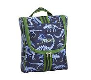 Toiletry Bag, Mackenzie Blue Dino