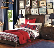 Platform Bed & Low Dresser Set