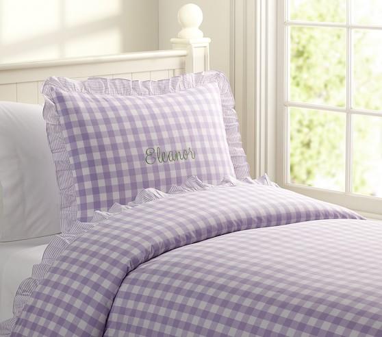 Eleanor Duvet Cover, Twin, Lavender