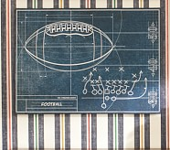 Sports Blueprint Art, Football