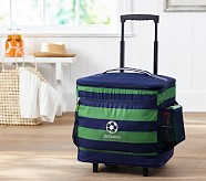 Cooler Bag, Fairfax Green/Navy Stripe, No Patch
