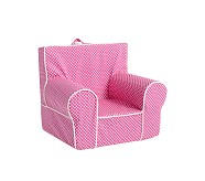 Bright Pink Mini Dot Anywhere Chair Replacement Slipcovers