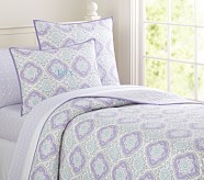 Tory Quilt, Lavender, Twin