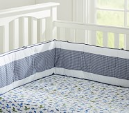 Preppy Plane Crib Fitted Sheet