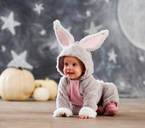 Bunny Halloween Costume, 0-6 months