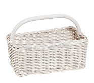 Sabrina Diaper Caddy, Simply White