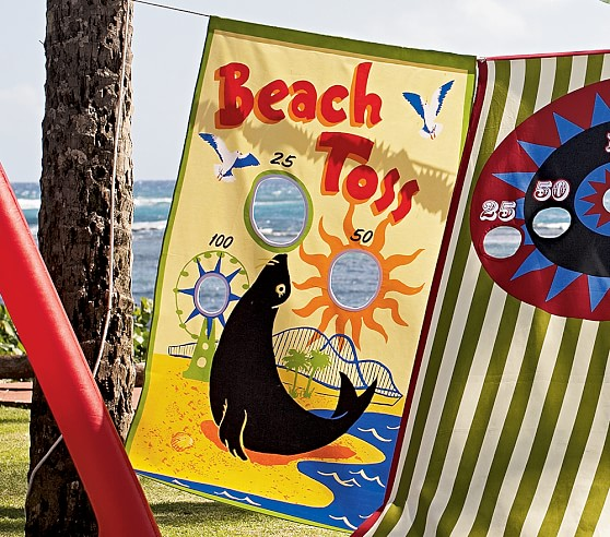 Beach Toss Canvas Game