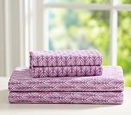 Feather Extra Pillowcase, Lilac