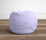 Lavender Heart Anywhere Beanbag®