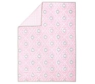 Claire Quilt, Pink