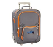 Fairfax Gray/Orange Small Luggage, Truck
