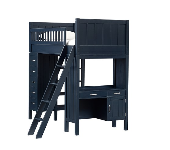 Bunk System without Twin Bed, Navy