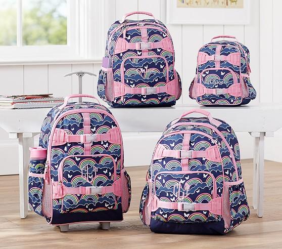 Mackenzie Navy Rainbow Backpacks