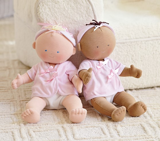 Pottery Barn Kids: Gotz Doll Collection Sarah loves dolls, she plays with them all day long. Changing their outfits, feeding them rocking them she is a little mommy in the making!