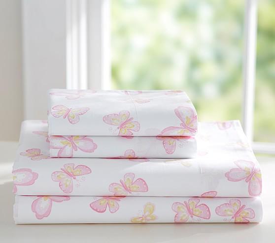 Mallory Butterfly Sheet Set