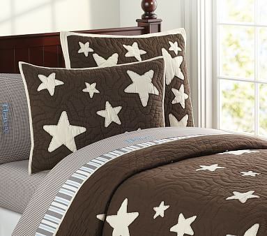 Star Quilted Bedding Pottery Barn Kids