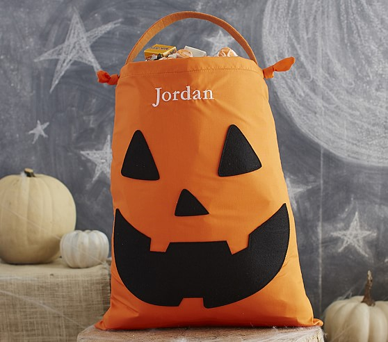 Pumpkin Pillowcase Treat Bag