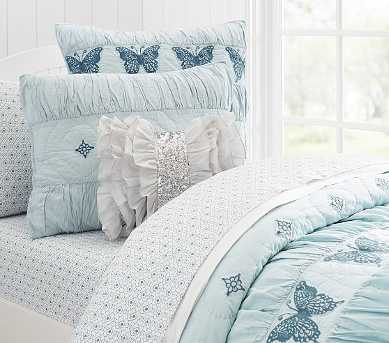 Windsor Butterfly Quilted Bedding