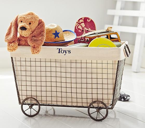 Toddler Bed Dog Basket