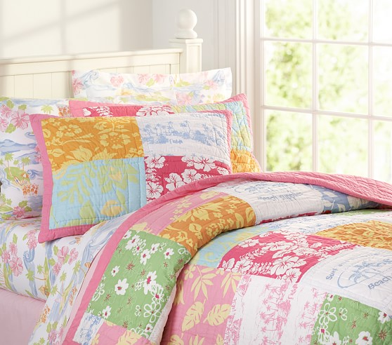 island surf quilted bedding pottery barn kids