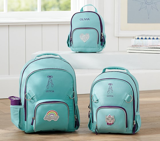 Fairfax Solid Turquoise Backpacks