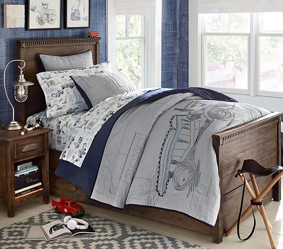 Carson bedroom set pottery barn kids - Pottery barn bedroom furniture sets ...