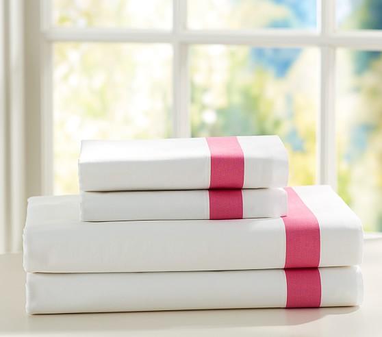 Stripe Cuff Sheet Set