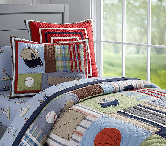 Junior Varsity Quilted Bedding