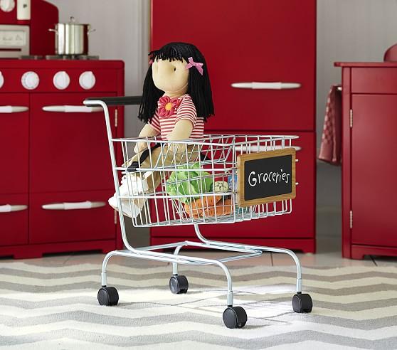 Metal Shopping Cart | Pottery Barn Kids