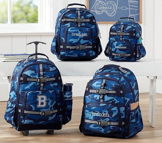 Mackenzie Navy Camo Backpacks