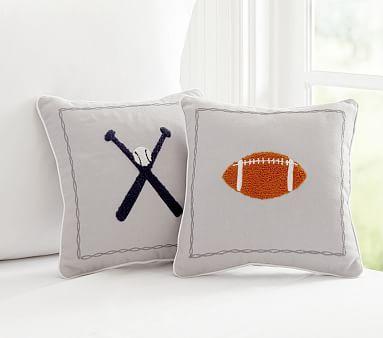 Sports Decorative Pillows Pottery Barn Kids