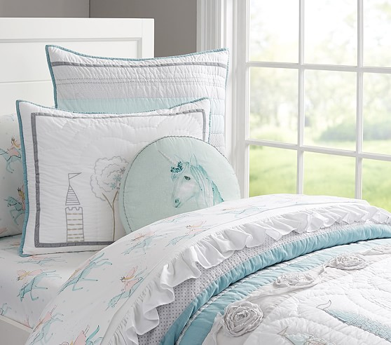 Starla Ice Castle Quilted Bedding
