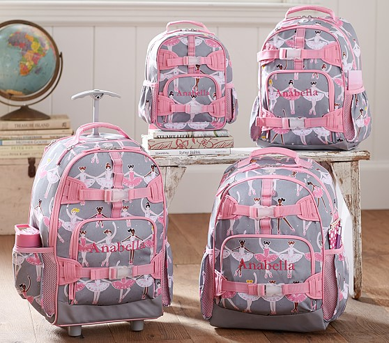 All About Mackenzie Glitter Ballerina Backpacks Pottery Barn Kids