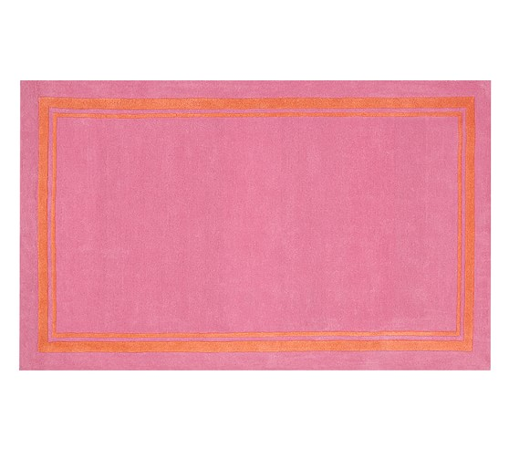 Harper Rug - Bright Pink/Orange